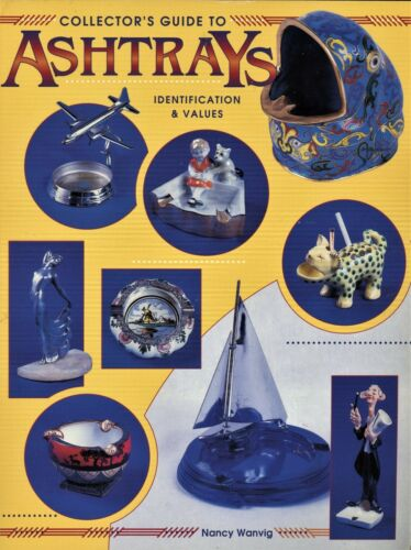 1,000+ Collectible Ashtrays - Advertising Novelty Etc. / Book + Values