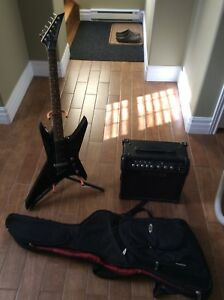 Jackson Electric Guitar and Amplifier
