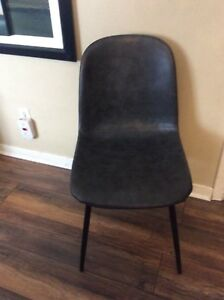 Grey Padded Dining/Desk Chairs- NEW- 2 Available