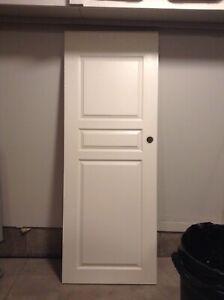 Inside white door