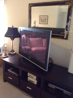 Entertainment unit Chocolate wood Mosman Mosman Area Preview