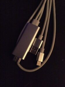iPhone / iPad to HDMI on your TV // cable