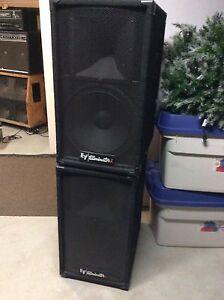 EV  pa speakers