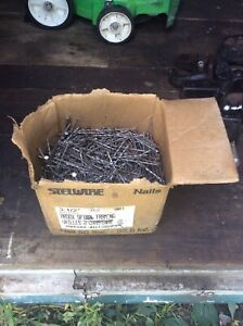 40 pounds, 3 1/2 inch Ardox Nails, Stelwire