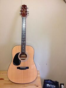 Left handed Takamine Jasmine Guitar for sale