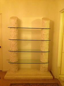 Lovely Glass And Stone Display Shelves Hornsby Hornsby Area Preview