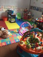 New Family Home Daycare Infant Spaces Available Now.