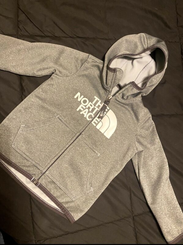 The Northface Hoodie Toddler 2T Gray
