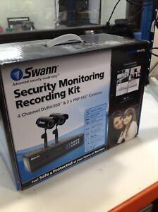Swann Security monitoring recording kit Braybrook Maribyrnong Area Preview