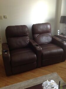 Home Theatre Seating - Power Recliner Pair