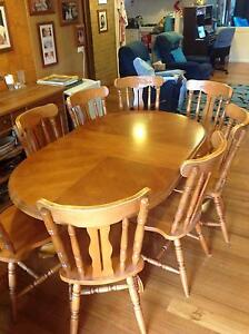 Dining table and 8 chairs Rokewood Golden Plains Preview