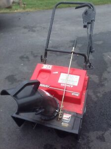 """Murray 20"""" Electric 12amp snowthrower"""