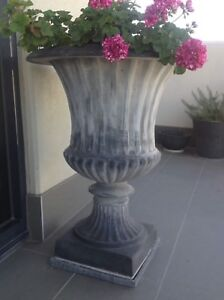Pair of lightweight Roman style Urns Richmond Yarra Area Preview