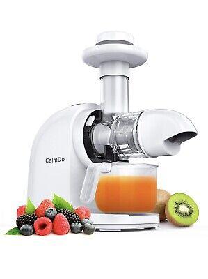 CalmDo licuadora prensado frio fruta verdura sorbete helado 70 MPR 140W motor