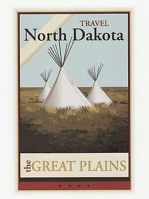 Postcard  The Great Plains   Travel  North Dakota   B492