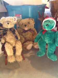 Ty and assorted bears for Christmas