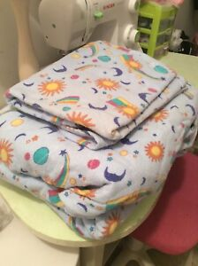 Cotton a Flannel Sheet Set. Full size