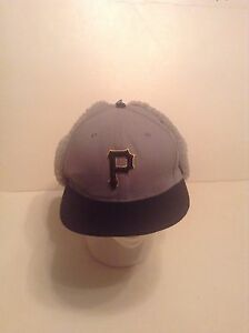 Pittsburgh Pirates New Era Dog Ear Hat for Cold Weather