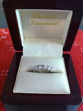 18k White Gold  1.06ct Diamond Ring Taringa Brisbane South West Preview