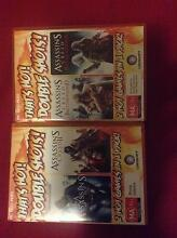 PC game assassin's creed  1&2&brotherhood&revelations Merewether Heights Newcastle Area Preview