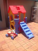 Outdoor play house, Slide and Tiny Tikes 3 wheel bike. Pakenham Cardinia Area Preview