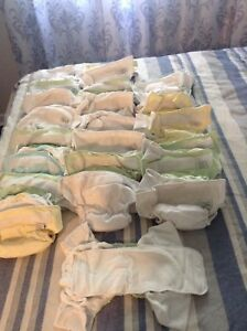24 Cloth diapers