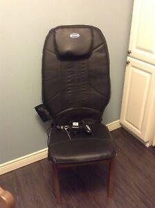 DR Scholl's Shiatsu chair cushion massager