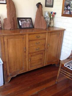 Oak chest of drawers Riverview Lane Cove Area Preview
