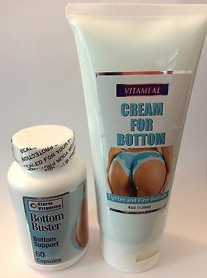 Bottom Buster Capsules Cream Firm Buttocks Gluteos Nalgas Pompis Crema Sexy Body
