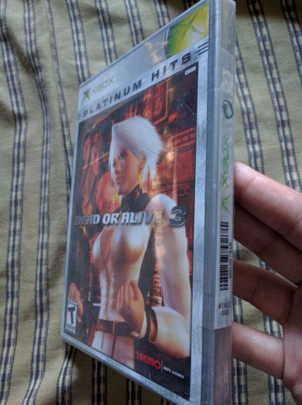 Dead or Alive 3 (Microsoft Xbox, 2001) Brand New Factory Sealed!