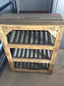 Rustic wine rack Holden Hill Tea Tree Gully Area Preview