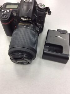 Nikon D7000 with lens and charger