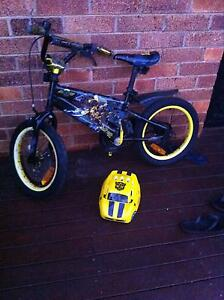 Transformers bike with a helmet Centenary Heights Toowoomba City Preview