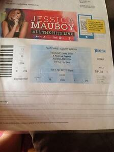 2 Jess mauboy tickets for sale Rokewood Golden Plains Preview
