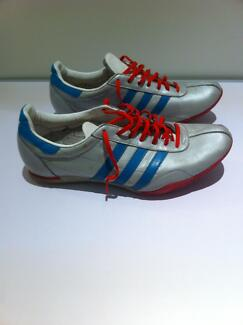 Adidas Sneakers Silver/Teal/Red US 12.5