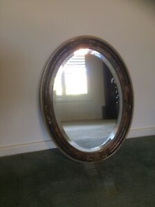 Antique Oval Mirror Shoal Bay Port Stephens Area Preview