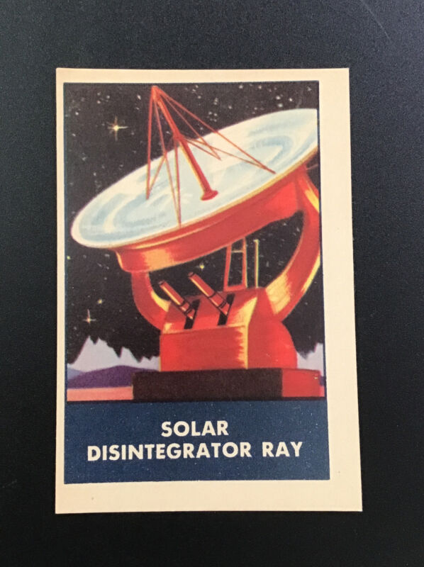 **1953 SOLAR DISINTEGRATOR RAY Chex Cereal Premium Rockets Jets Weapons Series