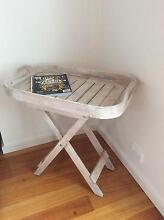 Shabby chic tray table Albert Park Port Phillip Preview