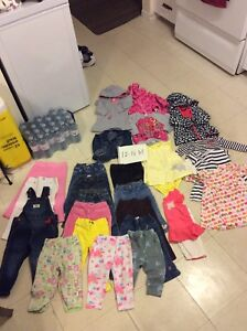 12-18 months baby girl lot