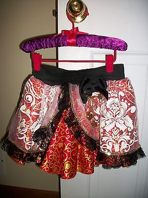 Ever After High Apple Snow White Petti Skirt Tutu EUC Monster High