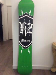 Illusion snowboard