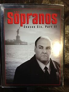 Sapranos season 6 part 2 DVD