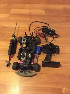 HPI drift nitro rc car !