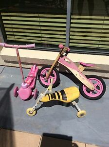 Scooter, and bike ( pink balance bike sold) Maryland Newcastle Area Preview