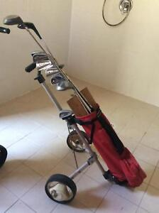 Kids Golf Clubs with Caddy