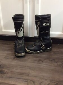 Vintage TR Racing Youth Motorcycle Boots