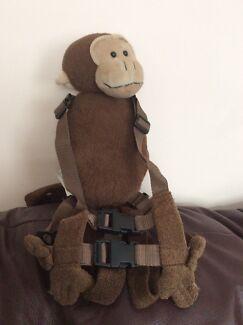 Gold bug toddler harness buddy animal monkey back pack
