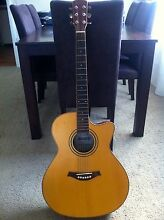 Beverly MM 07EA Solid Top Acoustic Guitar w/ Artec EDGE-BL Pre Am Belmont North Lake Macquarie Area Preview