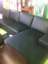100% leather modular lounge Invermay Launceston Area Preview