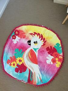 Round Beach Towel Mango Hill Pine Rivers Area Preview